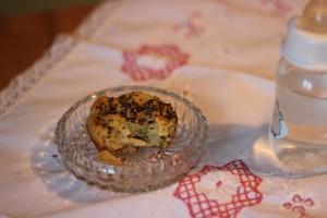Matmuffins med broccoli och cheddar