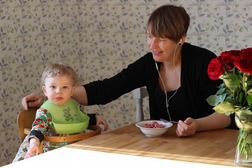 Ivar, Karin och en skål glass