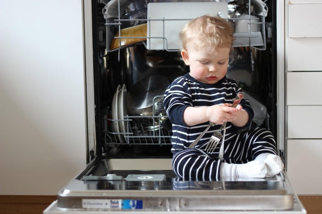 Ivar i diskmaskinen